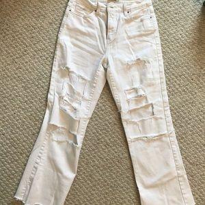 White vintage Levi jeans